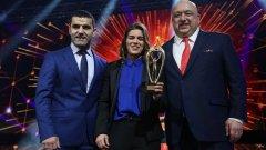 Тайбе Юсеин стана европейска шампионка в Каспийск през май, а през октомври взе и световната титла в Будапеща