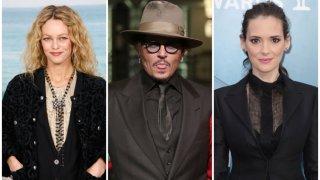 """Двете бивши партньорки на холивудския актьор направиха изявления във връзка с делото му за клевета срещу британския таблоид """"Сън"""""""