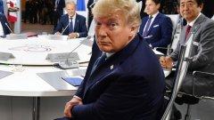 Американският президент е на срещата на Г-7 все по-изолиран от световните лидери