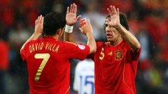 Давид Вия и Карлес Пуйол са най-големите имена, които няма да можем да видим на Евро 2012