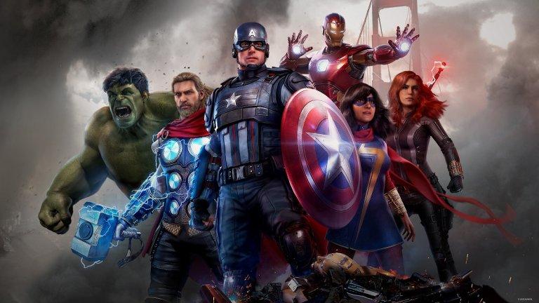 Spider-Man в Marvel's Avengers  И да стигнем до играта, която не успя да оползотвори потенциала си, но въпреки това се опитват да я поддържат жива с включването на нови герои. Двамата Hawkeye (Клинт и Кейт) и Черната пантера бяха добавени с експанжъни, а през тази година се очертава и Спайдър-мен да дебютира в играта... но само за PlayStation. Малко разочарование, но амбициозният проект - базиран на един от най-популярните франчайзи в света в момента - като цяло не беше хита, който можеше да бъде.