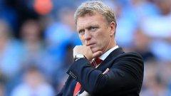 Дейвид Мойс чака невероятно представяне от своя Юнайтед довечера, както и малко помощ от горе...