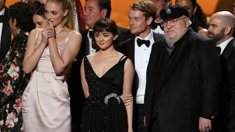 """""""Game of Thrones"""" взе """"Еми"""" за най-добър драматичен сериал"""