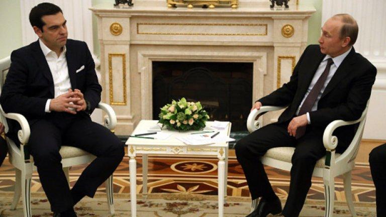 Сделката е обсъдена по време на разговорите между Алексис Ципрас и Владимир Путин в Москва