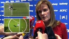 Президентката на Леганес Виктория Павон обясни, че клубът иска преиграване, защото не е бил поставен при равни условия срещу Леванте вчера