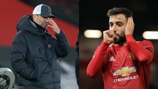 Бруно Фернандеш не спира да вкарва дузпи за Юнайтед, а Клоп си задава въпроса защо в мачовете на Ливърпул наказателни удари не се отсъждат толкова често