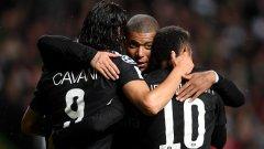 Триото в атаката на ПСЖ изглеждаше невероятно срещу Селтик. Вижте кой още впечатли и кой разочарова след първите мачове от групите на Шампионската лига
