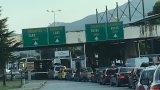 """Причината за образувалата се колона е забраната за влизане на туристи в Гърция през ГКПП """"Маказа"""""""