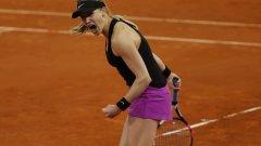 Джини  доказа, че има тенис аргументи за острата си критика по адрес на бившата №1.
