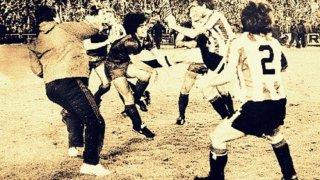И Меси полудя срещу Билбао, но Марадона предизвика война