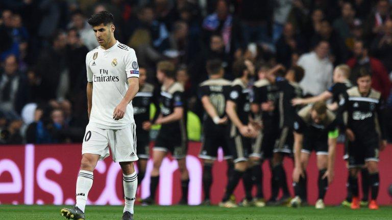 За една седмица Реал отпадна в полуфиналите за Купата на краля, загуби шансове за титлата в Испания и беше изхвърлен от Шампионската лига