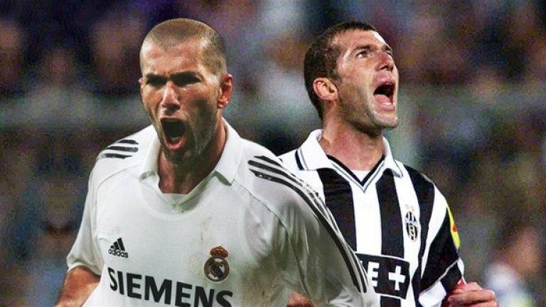 2. Зинедин Зидан, 73 млн. евро в Реал Мадрид (2001 г.)