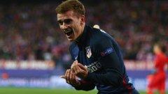 Два гола на Гризман пратиха Атлетико на полуфиналите