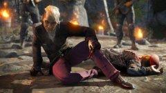 Far Cry 4  В началото на Far Cry 4 се срещаме с Паган Мин - ексцентричния диктатор на измислената хималайска страна Кират. След като очевидно се представя като злодея в играта, той ви отвежда в имението си, където след кратка, но кървава вечеря успявате да избягате с помощта на бунтовниците и така поставяте началото на основната игра.  Но ако просто решите да изчакате на масата, след като Мин напуска, и имате търпението за 15-тина реални минути, ще видите доста по-различно развитие. Диктаторът се завръща, държи се любезно и ви позволява да разпръснете праха на починалата майка. След това дори ще ви повози на своя хеликоптер... и Far Cry 4 свършва. Беше доста лесно, нали?