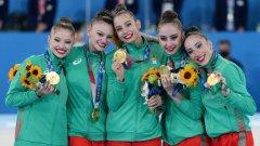Златните момичета ни донесоха историческа олимпийска титла!