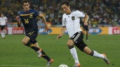 Месут Йозил игра силно за Германия в ЮАР и веднага си потърси по-силен отбор