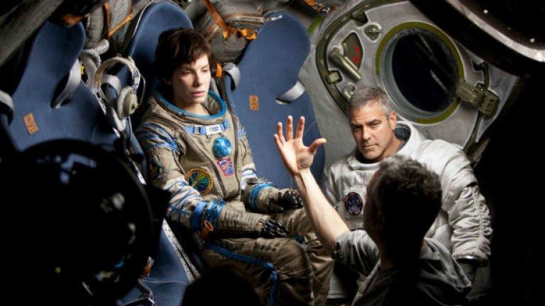 Сандра Бълок и Джордж Клуни са изиграли целия филм в съвсем минималистични условия