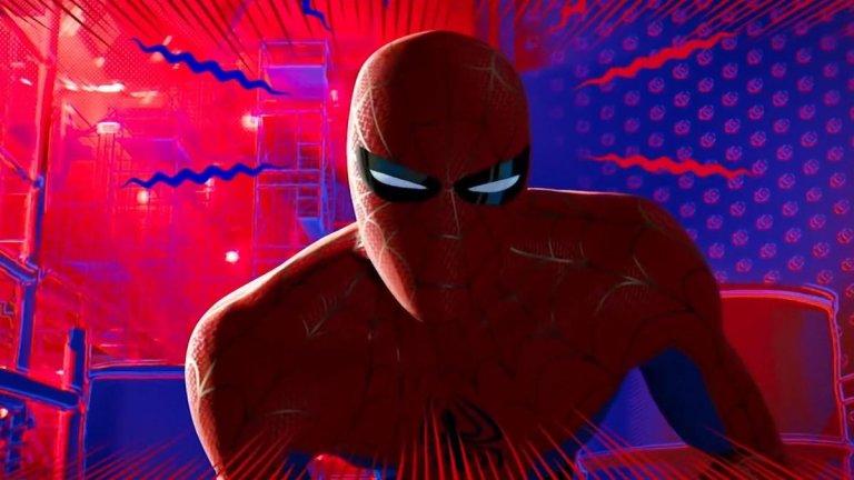 """Питър Паркър / Спайдър-мен (""""Спайдър-мен: В Спайди-вселената"""", 2018 г.)  Изненадахме ви? Честно казано, ние също бяхме изненадани, че в някаква степен Пайн е играл супергерой, при това така популярен като Спайдър-мен. Това е по-слабо известен факт, защото става дума за... анимация. Актьорът озвучава Питър Паркър в """"Спайдър-мен: В Спайди-вселената"""", като дори не е главния герой - честта се пада на тъмнокожия Майлс Моралес (озвучен от Шамейк Мур). Всъщност този Спайдър-мен, изигран от Пайн, има неприятна съдба още в първите минути на анимацията, но няма да ви разкриваме повече - не само заради краткото му участие тя заслужава вниманието ви. Все пак спечели """"Оскар"""" за най-добър анимационен филм за 2018 г."""