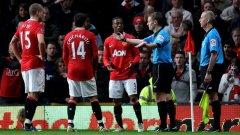 Футболистите на Манчестър Юнайтед имаха пълно право да са недоволни от съдийството на Майк Джоунс