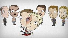 """Чък Паланюк иска да ни покаже детския вариант на """"Боен клуб"""", представен под формата на наивни стихчета и придружен с нелепи илюстрации"""