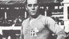 """Атилио Ферарис е първият капитан на Рома и първият играч на """"вълците"""", обличал националната фланелка на Италия"""