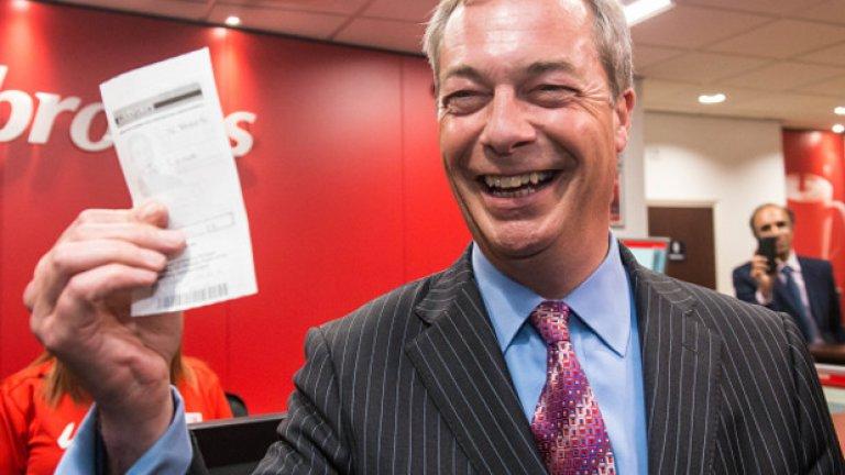 Основателят на партията, превзета от крайнодесния Найджъл Фарадж - Алън Скед смята, че UKIP няма бъдеще повече, след като каузата й е изпълнена