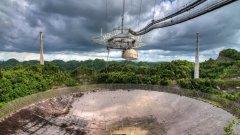 Ще бъде ли разрушен легендарният радиотелескоп Аресибо?