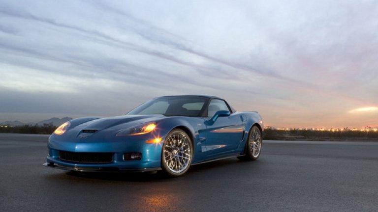 Corvette ZR1 – 7.19,63 минути ZR1 е американската кола, която успява да притесни италианските спортни екзотики. Тук разполагаме със сглобен на ръка V8 мотор с компресор, който има мощност 647 конски сили.