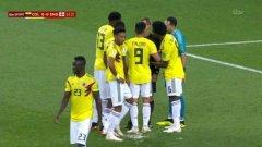Колумбия с мръсната тактика на Юве при дузпата на Кейн (видео)