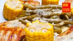 Пилешко филе на скара с цитрусов сос