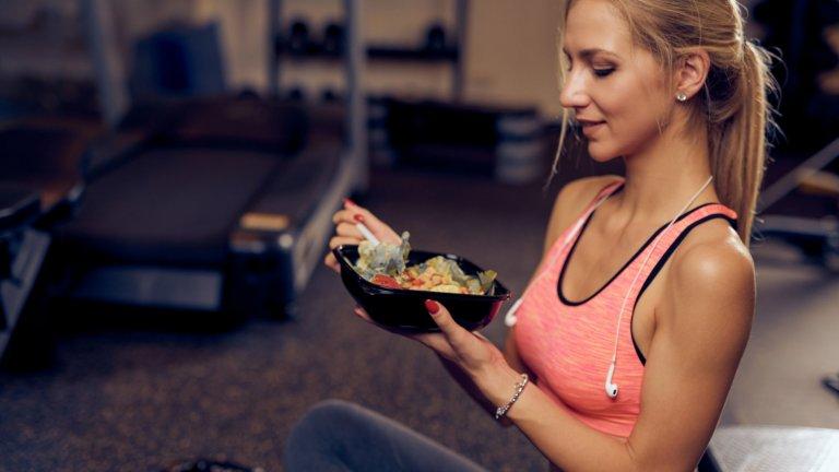 И няколко ястия, които да похапнете след усилена тренировка