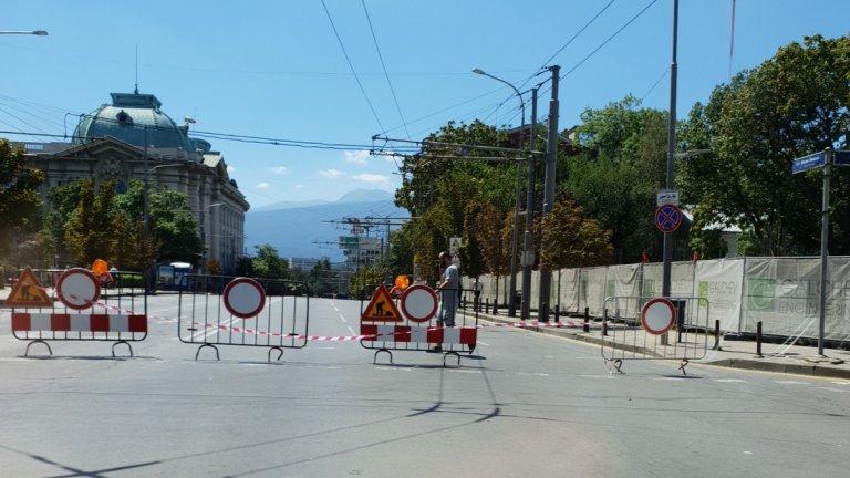 185 хиляди лева глоба за некачествени ремонти в центъра на София