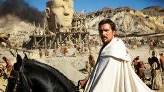 Крисчън Бейл е Мойсей в поредния филмиран библейски сюжет