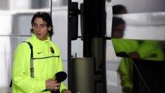 Златан Ибрахимович и останалите футболисти на Барселона продължават автобусната си одисея към Милано