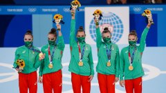 """""""Този медал е нашето чудо. Това е една сбъдната мечта"""""""