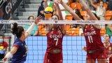 България претърпя драматична загуба в третия си мач на Евроволей