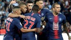 """ПСЖ игра със специален екип. Вместо спонсор, парижани излязоха с изображение на изгорялата катедрала """"Нотр Дам"""" на гърдите"""