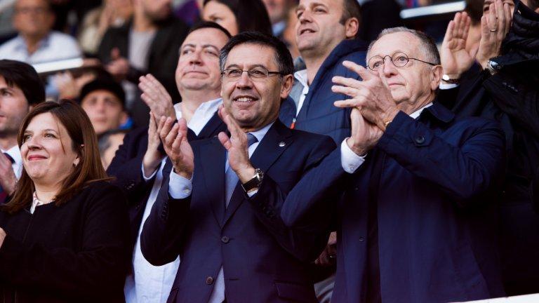 Бартомеу наблегна на факта, че този сезон Барселона спечели убедително титлата с 11 т. аванс пред втория и има шанс да запише нов дубъл при успех на финала за Купата