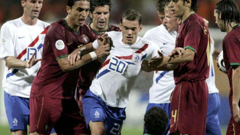 """Португалия и Холандия отново са една срещу друга в мач """"на кръв"""""""