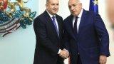 Борисов не бил следил какво е говорил днес Радев