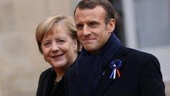 Ангела Меркел и Еманюел Макрон дадоха първи крачки към създаването на европейска армия