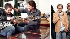 Еди Ван Хален наставлява своя син и басист на групата Van Halen