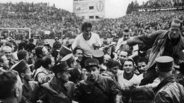 Фриц Валтер е любимият спортист на Германия
