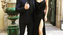 """Слай Сталоун пусна тази снимка, на която позира със съпругата си Дженифър Флавин преди церемонията по раздаването на """"Оскар""""-ите.  Вижте в галерията кой какви снимки иззад кулисите на церемонията пусна в Instagram"""