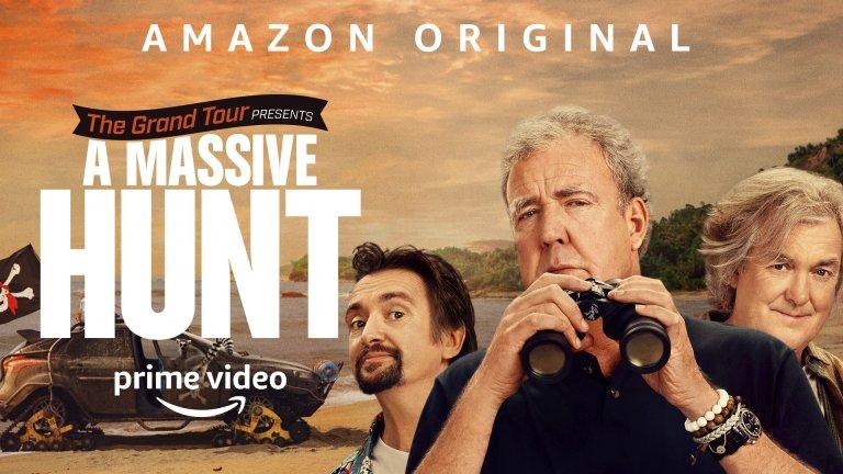 The Grand Tour: A Massive Hunt (Amazon Prime) - 18 декември Нека го признаем, Коледата без коледно специално издание от Кларксън, Мей и Хамънд просто не е същата. А тази година се питаме какво достойно предизвикателство са си поставили тези тримата за 2020 г. Мощни коли, страхотен хумор и обичайното шоу - The Grand Tour са удоволствие, което няма да пропуснем.