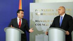 Борисов посъветвал Зоран Заев да не подава оставка