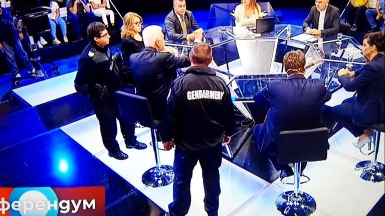 """Причината - скандал с участието на лидера на """"Атака"""" в предаването """"Референдум"""""""