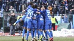 Левски спечели второ поредно дерби срещу ЦСКА благодарение на автогол