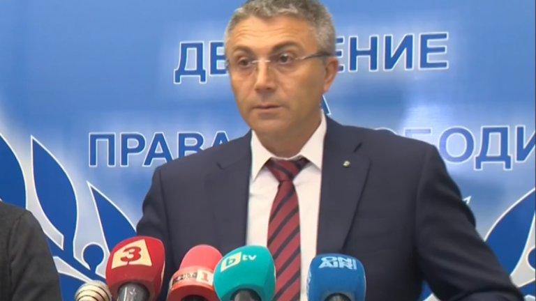 Според лидера на ДПС цялата държавна машина е била впрегната в помощ на управляващите.
