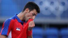 Джокович се провали и в битката за бронза